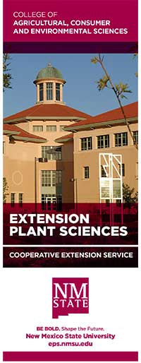 cover of extension plant sciences brochure